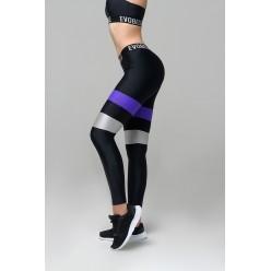 Спортивные лосины Evobelle Infinity Violet