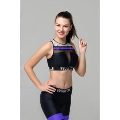 Топ для фитнеса Evobelle Infinity Violet