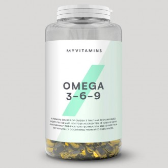Myprotein Омега 369 (120 капсул)